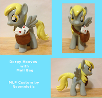 Derpy Hooves with Mail Bag by Nsomniotic