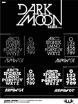 Dark Moon Serif TypeFace by Weslo11