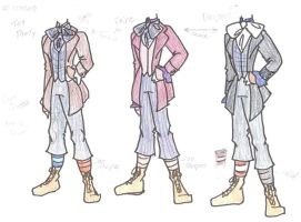 Hatter Costume Ref 01 by RubyOfTrinity