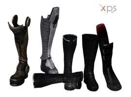 ME3 Boots as Objects for XPS by Just-Jasper
