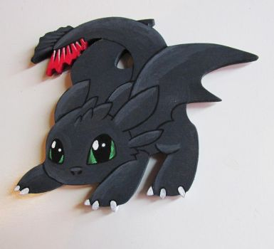 Toothless magnet figurine by Judy25