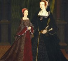 Anne and Elizabeth I by Lucrecia-89