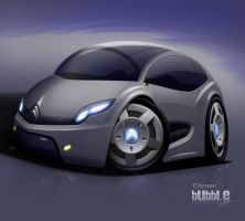 Citroen Bubble Concept by CAD3