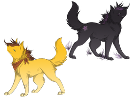 Adoptables 5 by cristal-wolf94