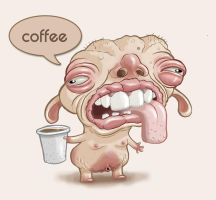 Mr. Coffeee Color by urielstempest