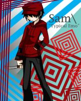 The TYPICAL EMO dude Sam by YwiiOax