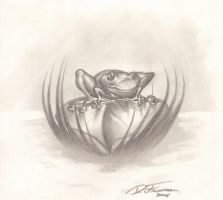 Little Froggy sketchy type by RNABrandEnt