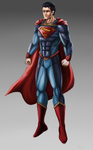 Superman suit concept by Johnni-Kun