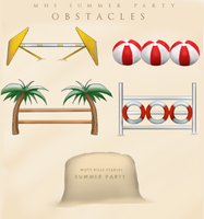 Summer Party Event OBSTACLES by Mistyhills