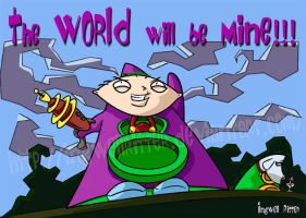 Stewie Griffin_Purple Tentacle by IngwellRitter