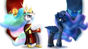Equestrian Civil War and The Faction Leaders by NiegelvonWolf