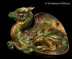 Serpentine Old Warrior dragon by Reptangle