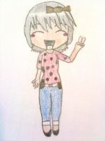 Chibi Drawing by icelovebunnies9