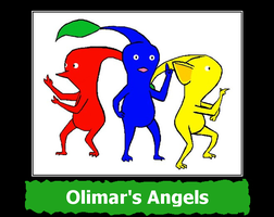 Olimar's Angels by MasterRBG