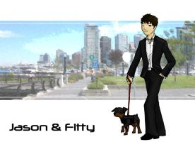 Jason and Fitty Take Vancouver by Jeison-ree