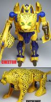 Beast Wars figures: Cheetor. -Pre-Transmetal- by Lugnut1995