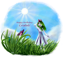 Happy Birthday CristalSong! by MangoPearls