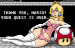 Mackie85 - Princess Peach Colored by StarDragon77