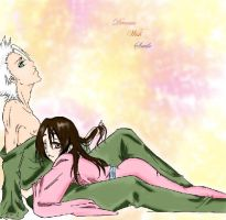Hitsugaya T and Hinamori M. by Basylea