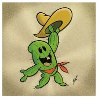 Cactus Kid by HammersonHoek
