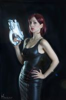 Femshepard Cosplay shoot by Hidrico