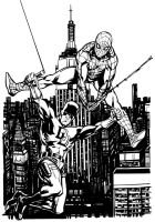 Daredevil and Spidey by stokesbook