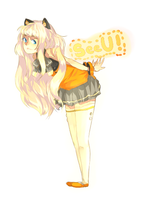SeeU sketch by rahaina
