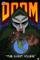 MF DOOM by NHMorrissey