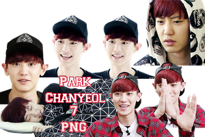 Park Chanyeol's PNG Pack {Roommate} by kamjong-kai