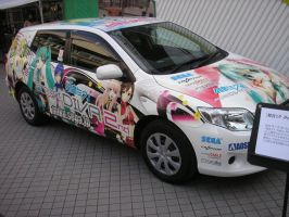 Hatsune Miku Car Project Diva by Artemko12