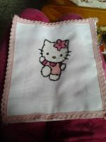Hello Kitty cross stitch by Nenetchy