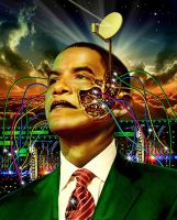 Obama wired by funkwood