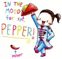 in the mood for Sgt. Pepper by elooly
