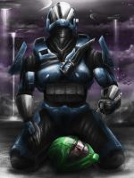 HALO Loss of a Spartan by jose144