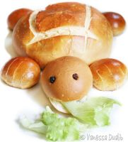 Turtle Bread by Rerinha