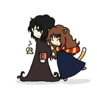 Snape and Hermione 4 by BakaMokona