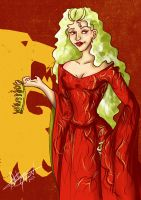 Cersei Lannister by VoidmageHusher