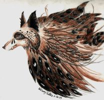 Wolf of Falcons by shedevi1s