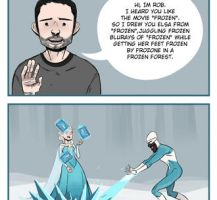 Because Frozen by Dynamaito