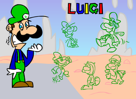 Just Luigi by NikoAnesti