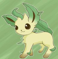 Leafeon by moonwaveumbreon