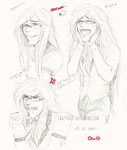 Grell's Emotions by CrazyVik97