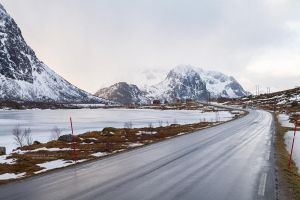 The Road In The Mountains by DominikaAniola