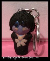 Noel Fielding Keychain by pandaparty666