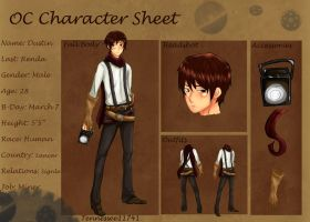 Dustin R. .:Character Sheet:. by Tennessee11741