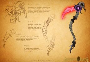 serpents blade: death scyth by Justathereptile