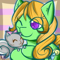 Candy Folss and Lola by Hoblacko