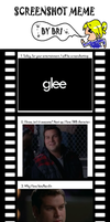 Screenshot Meme: GLEE by Scary-Scarecrow