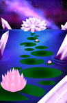 Land of Lotus and Crystal by Araseri
