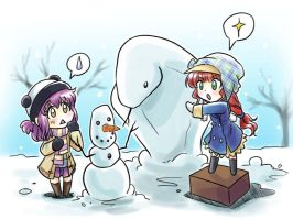 MM: Do you wanna build a snowman by Zue